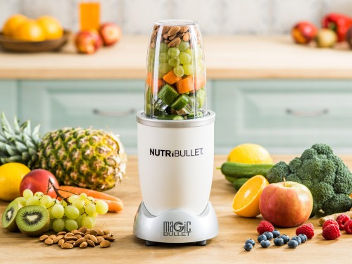 Extraktor Nutribullet 600 White, set 5 ks Delimano