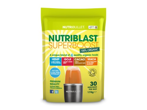 NutriBlast Superboost Směs superpotravin do smoothie Delimano