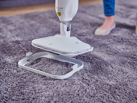 Rovus Nano Floor Steamer Plus Cloths