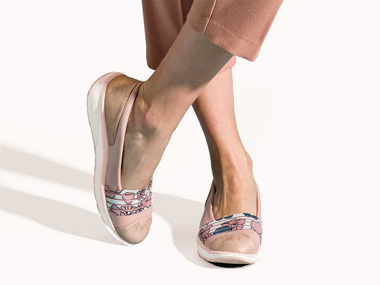 Walkmaxx Comfort Ballerinas Stripe