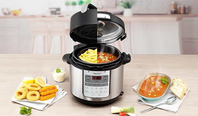 Delimano Air Fryer & Pressure Multicooker